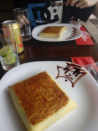 Cine Café & Creperia: Crepe