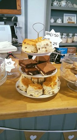 Bexhill-on-Sea, UK: We still have freshly baked cakes, ecceles and scones