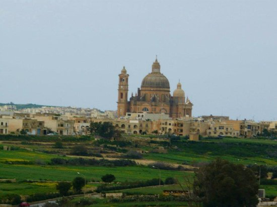 Xewkija, Malta: The church.