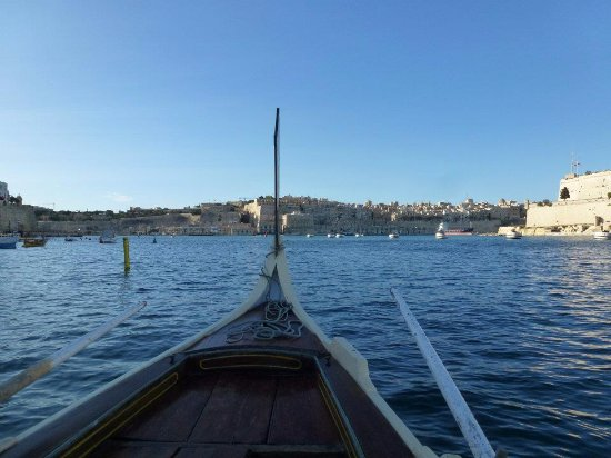 Birgu (Vittoriosa), Malta: The boat ride.