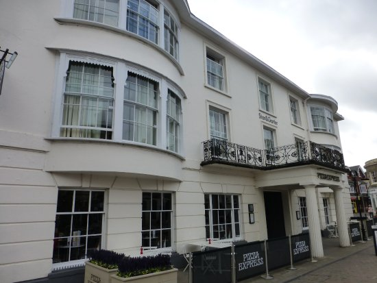 The Star & Garter: Front of Hotel