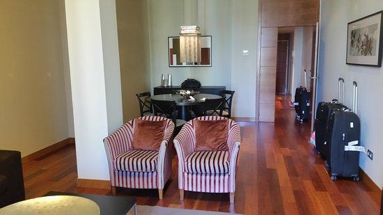 Majestic Residence: sala do apartamento