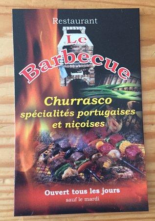 La carte photo de le barbecue nice tripadvisor - Le barbecue nice ...