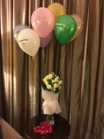 The Westin Dubai Mina Seyahi Beach Resort & Marina: Bouquet flower done by Tatiana