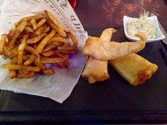Vaux-sur-Mer, França: Retour de pêche, façon Fish & Chips
