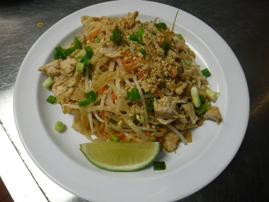 Liberty, Nowy Jork: Pad Thai chicken