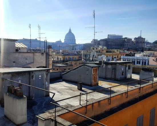 Bed & Breakfast Il Tesoro: Our rooftop