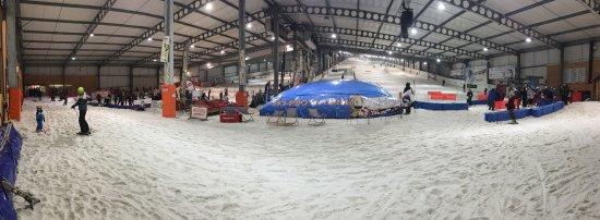 Snowhall: Vue panoramique de nos 3 pistes