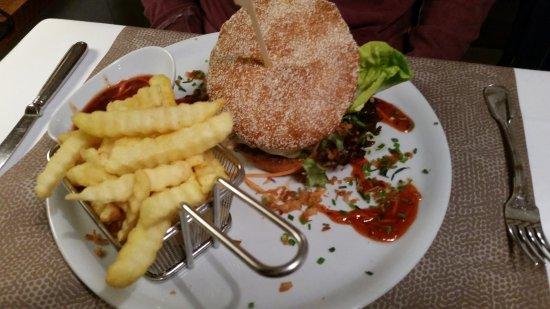 Schneverdingen, เยอรมนี: Burger