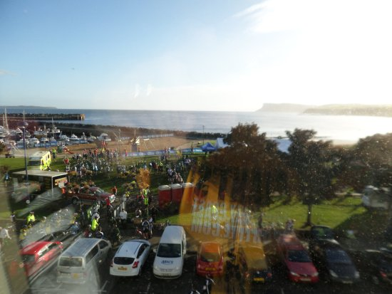Ballycastle, UK: View from our room in Ballycaslte