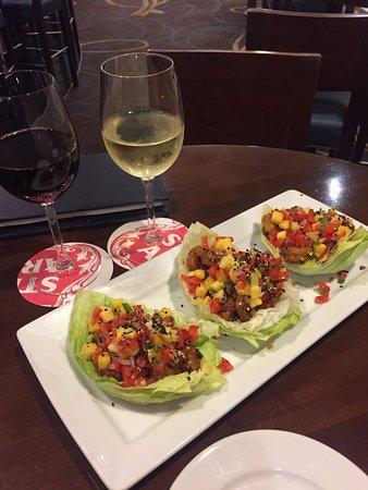 Sheraton Agoura Hills Hotel: Delicious starter