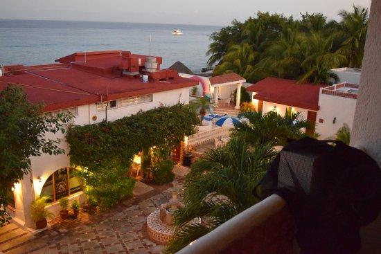 Scuba Club Cozumel: View from room 17 balcony