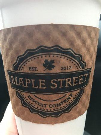 Maple coffee YUMMY!!