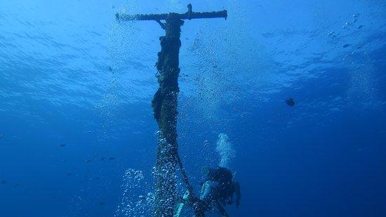 Felipe Xicotencatl Shipwreck: the wreck