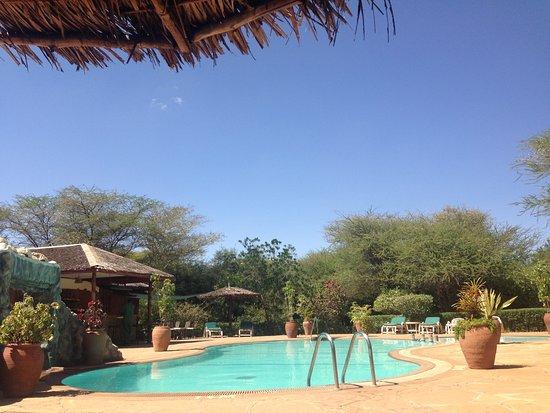 Luxus pool  kein Luxus Pool aber für eine kurze Erfrischung zwischendurch ...