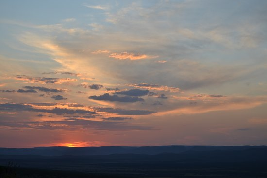 St. James, Zuid-Afrika: Sunset at Addo Elephant Park
