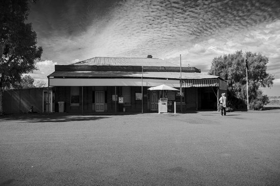 Västra Australien, Australien: Grand Hotel Kookynie....