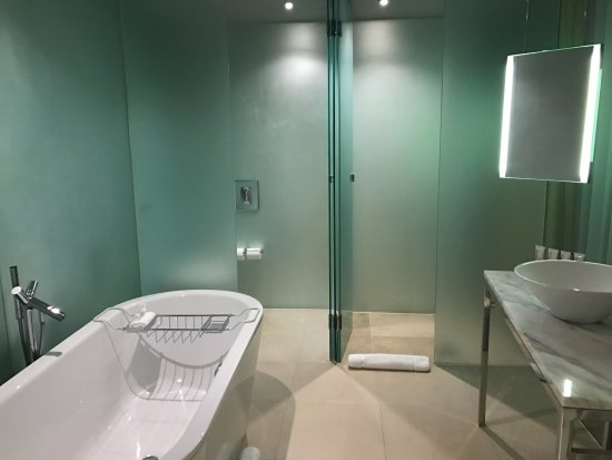 Deluxe Room Bathroom with tub shower room toilet room Picture