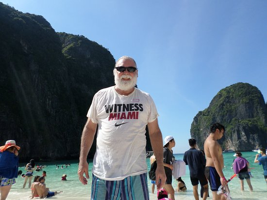 Cherngtalay, Tailandia: Maya Beach where Leonardo Di Caprio filmed The Beach!