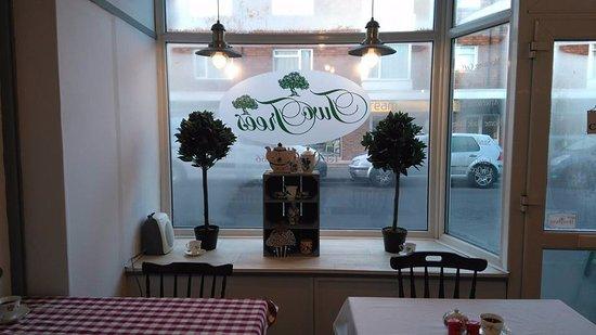 Bexhill-on-Sea, UK: New window display