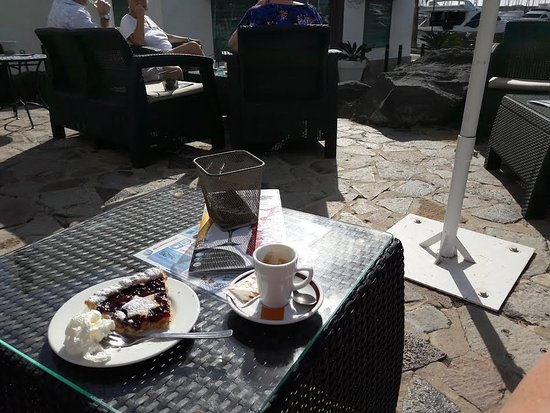 Coffee And Cake At Cafe Terraza Picture Of Cafe Terraza