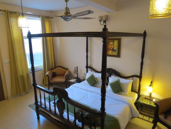 Suryaa Villa: notre chambre