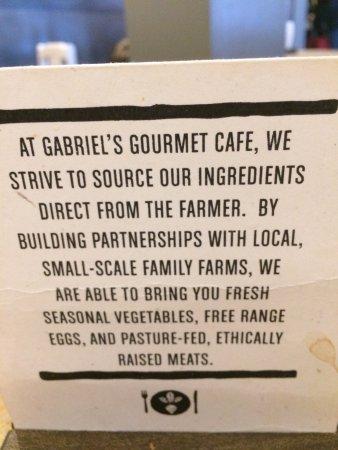 Gabriel's Gourmet Cafe: photo0.jpg