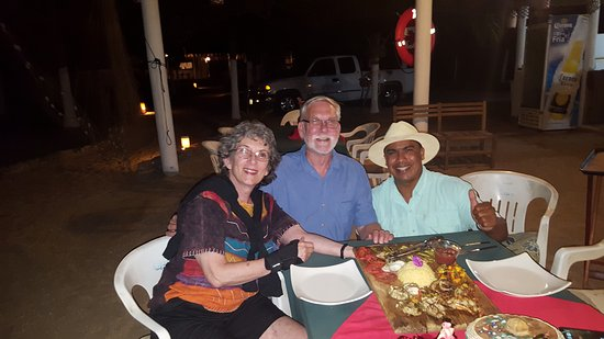 Playa Blanca, Mexique : Chula Vista with Jose and fabulous meal