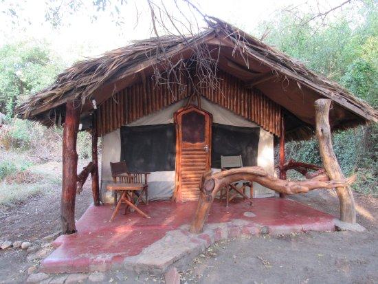 Lake Natron, Tanzania: Our tent/cabin