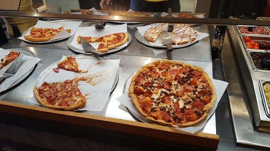 Rockingham, Северная Каролина: Pizza Inn
