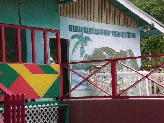 Speyside, Tobago: Rückseite
