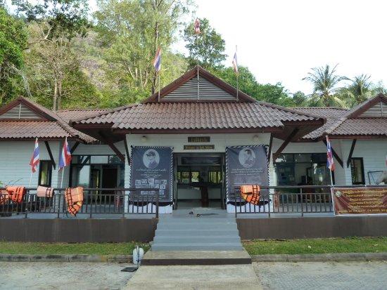 Satun, Thailand: Le bureau des rangers du parc