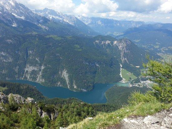 Schoenau sto Koenigssee, Germania: Was für ein Ausblick