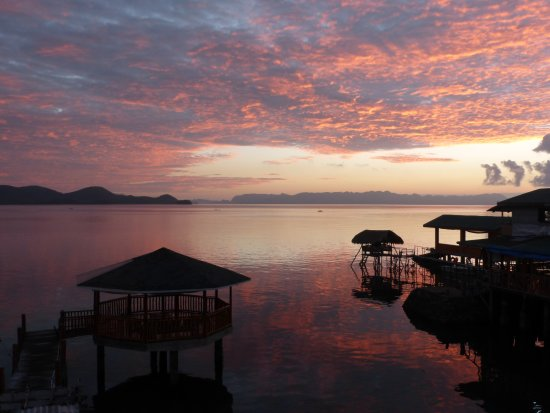 Culion, Filippine: Sunrise