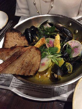 Ferndale, MI: Otus Supply - Mussels and Octopus