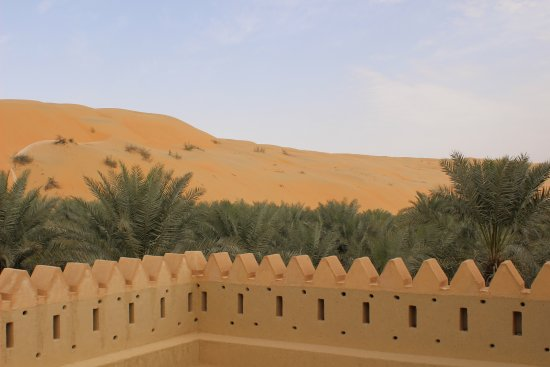 Liwa Oasis, De forente arabiske emirater: nice view of dunes