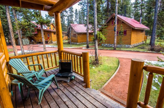 Balcony - Picture of Baker Creek Mountain Resort, Lake Louise - Tripadvisor