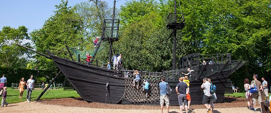 Wiltshire, UK: The Fun Pirate Ship