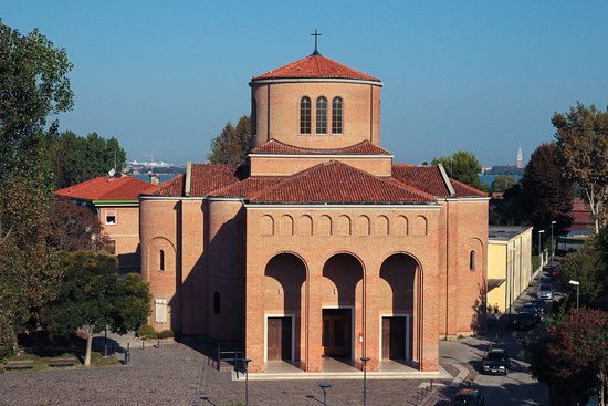 La Chiesa di S. Antonio da Padova a Lido di Venezia al giorno d'oggi.