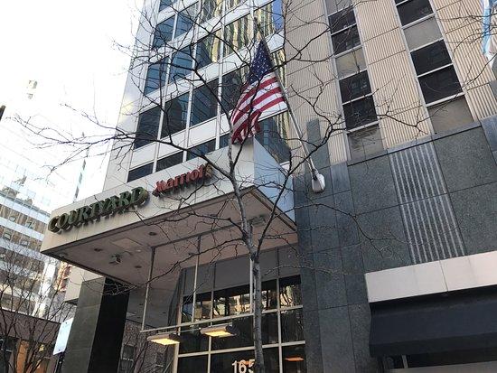 芝加哥市中心萬豪庭院酒店照片