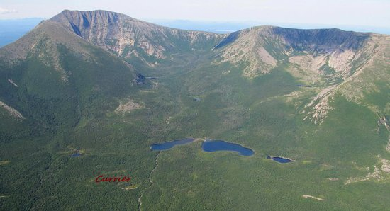 Greenville, ME: Mount Katahdin.