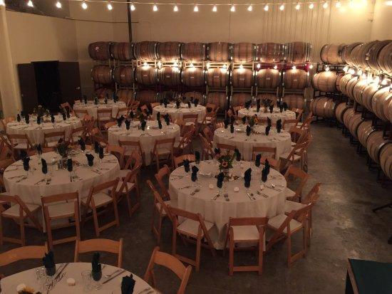 Cantara Cellars: Wedding or large events