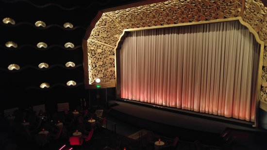 The Rex Cinema: Great view of screen