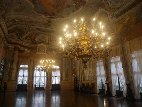 Ca' Rezzonico: Hauptsaal