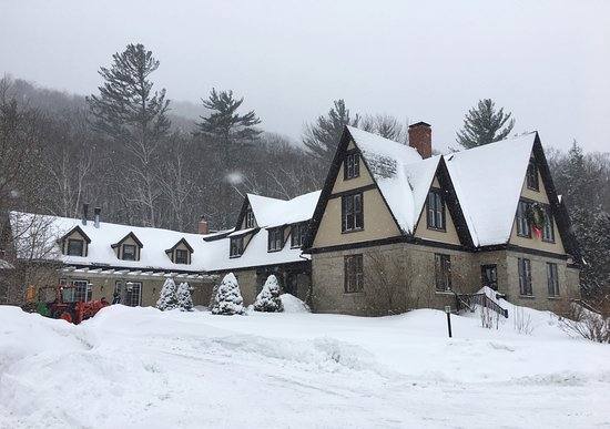 The Notchland Inn: The main Inn, begun by Samuel Bemis and known as the Granite Mansion in the 1860's.