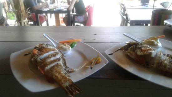 Grand Bourg, Γουαδελούπη: Perroquet grillé et son aïoli