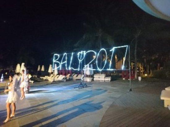 Club Med Bali: fete du 31 decembre 2016/2017