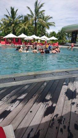 Club Med Bali: fin du cours d'aquagym