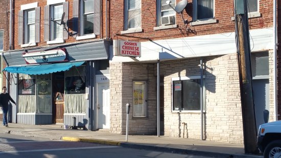 Goshen, NY: The front
