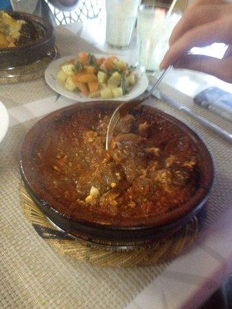 Lamb Tomato Tagine - ly - Picture of Taj'in Darna, Marrakech ... on